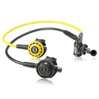 Scubapro MK 19 EVO DIN G260 Black Tech m. R195 Oktopus - geprüft und montiert