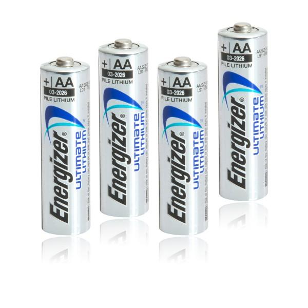 Energizer Ultimate Lithium L91 AA Mignon 4er Blister