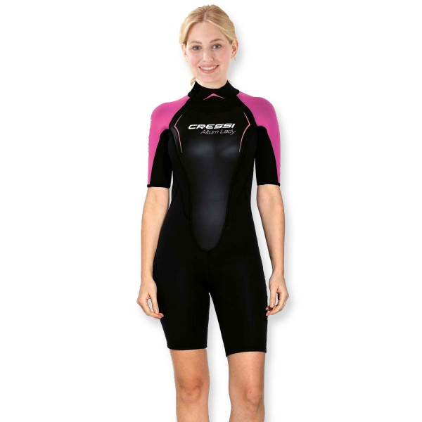 Cressi Wassersportanzug Shorty Altum - 3mm Neopren, Damen