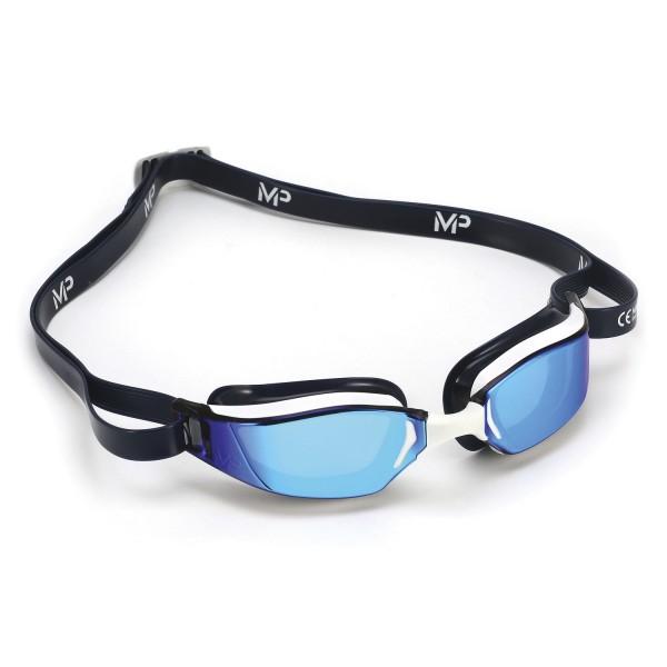 MP Xceed Titanium Mirror Blue Schwimmbrille - verspiegelte Scheibe