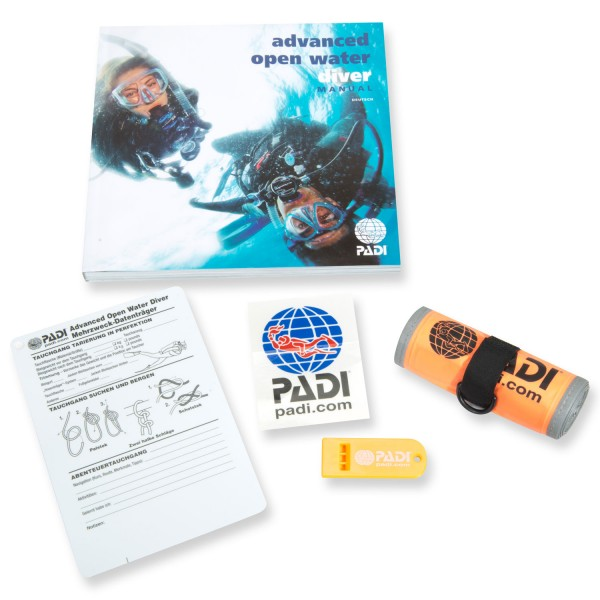 Padi Crewpack 1 Adventures in Diving - deutsche Ausgabe