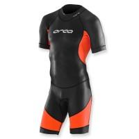 Orca Freiwasser-Schwimmanzug Core Open Water schwarz orange - Herren