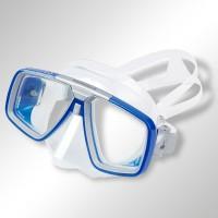 Tauchmaske Aqualung Look Silikon - optische Gläser möglich Blau