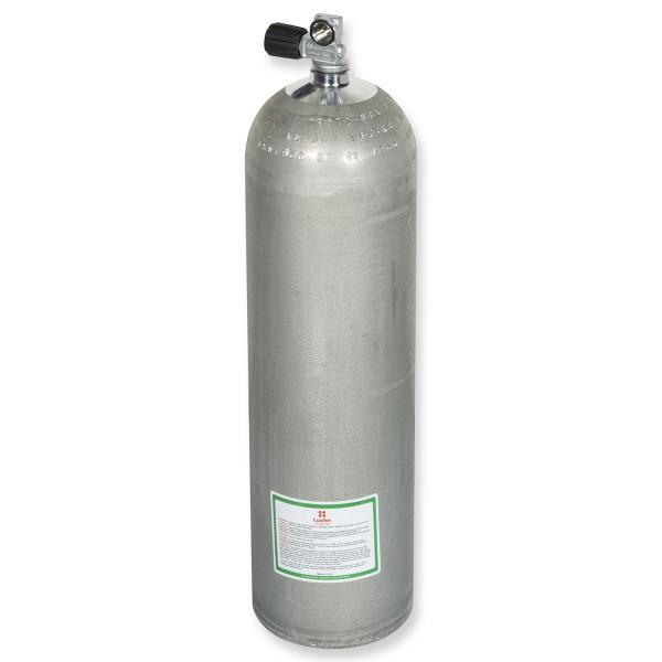 OMS - BTS Alu-Flasche Mono 80cf silber, Dirty Beast, ca. 11,1 Liter