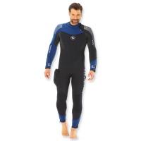 Aqualung Dynaflex Overall 7mm halbtrocken - Herren mit Rückenreißverschluss