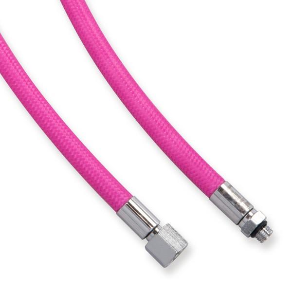 """Miflex Mitteldruckschlauch 3/8"""" - pink - 56 bis 210 cm"""