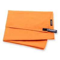Cressi Mircofaser Handtuch 60 x 120 cm, orange - schnell trocknend
