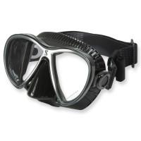 Synergy Twin Trufit schwarz - weicher Maskenkörper mit Comfort Strap von Scubapro