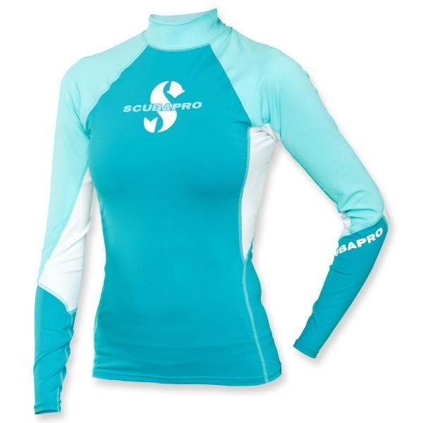 Scubapro T-Flex Lycra Shirt Damen - Caribian langarm UPF 80