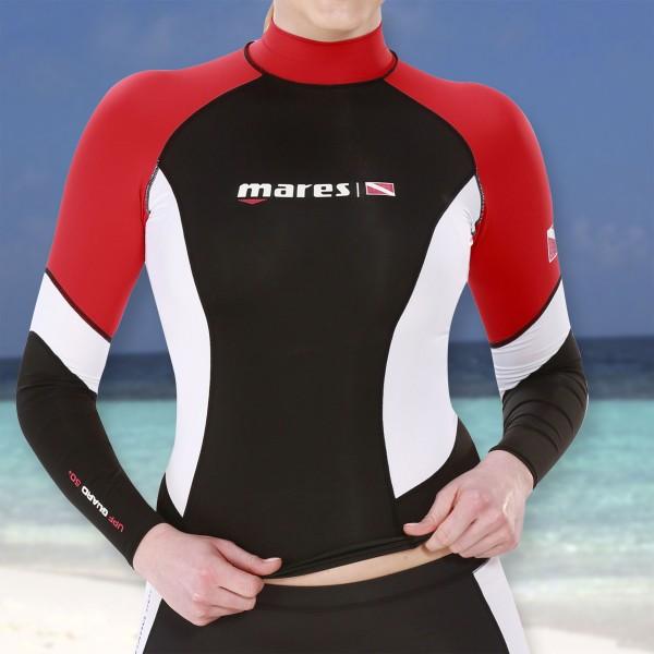 Mares DC Rash Guard Shirt langarm für Damen - UPF50+