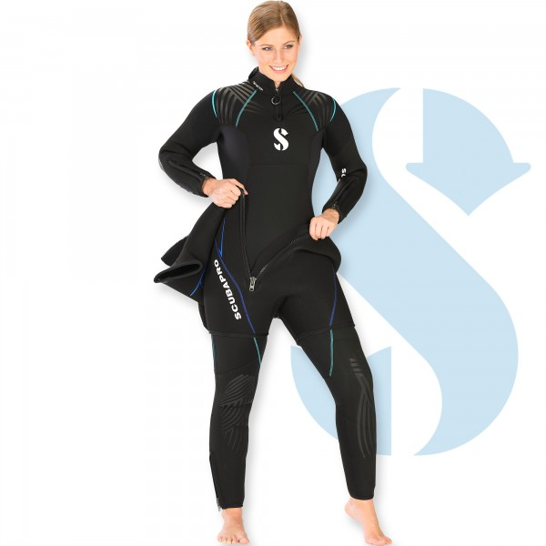 Scubapro Definition 7.0 Sparset Damen mit Weste - sehr warm