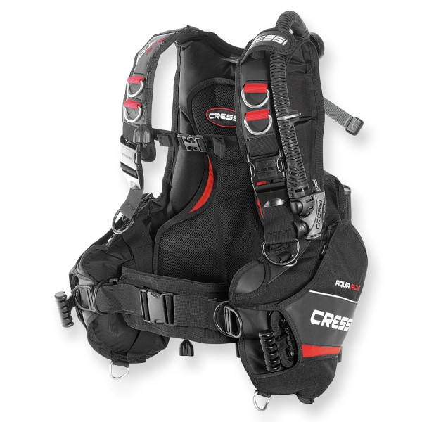 Cressi Jacket Aquaride - Rückenpolster und Trimmbleitaschen