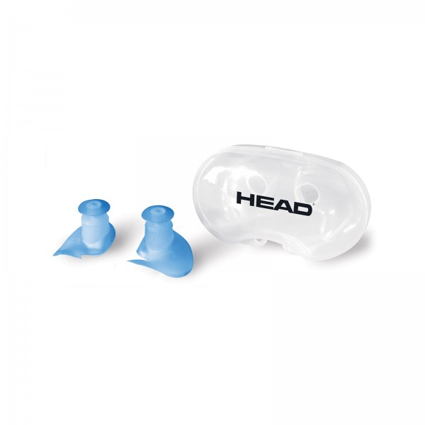 Head Ear Plug Silicone - Ohrenstöpsel, blau