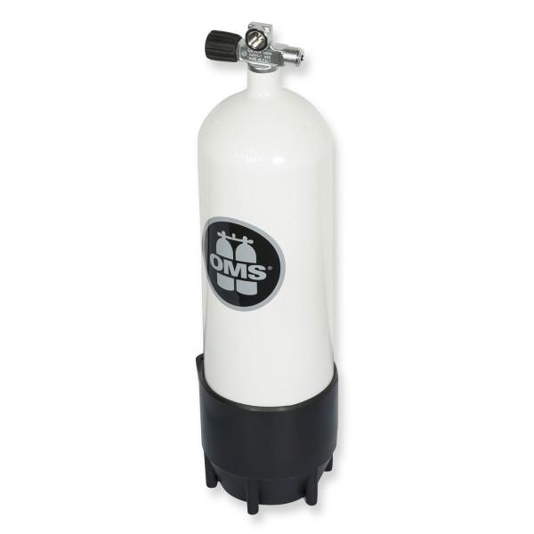 OMS - BTS Mono Stahlflasche 10 Liter - Ventil ausbaufähig