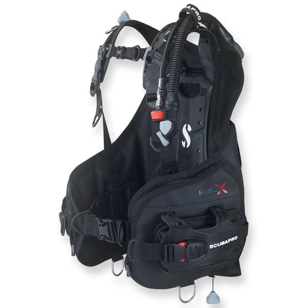 Scubapro Tauchjacket Hydros X Men schwarz - bleiintegriert