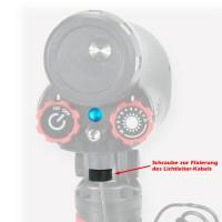 Schraube für Lichtleiter-Kabel Sealife