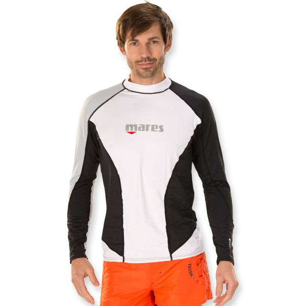 Mares Trilastic Rash Guard Men - UV-Schutz Shirt weit geschnitten