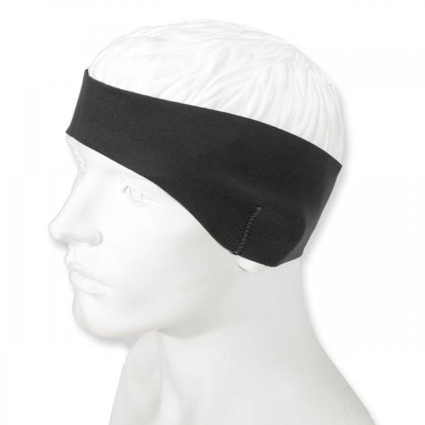Mero 3 mm Neopren-Stirnband, schwarz