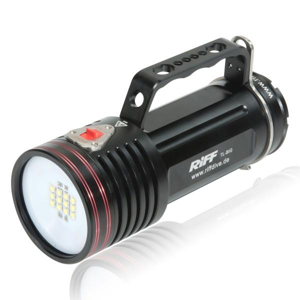 Riff TL-Big Tauchlampe mit - ca. 7000 Lumen