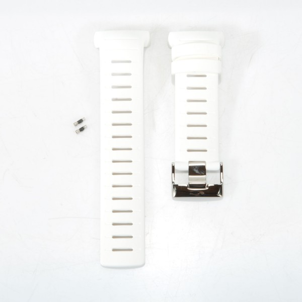 Suunto Silikonarmband für Tauchcomputer D6i White