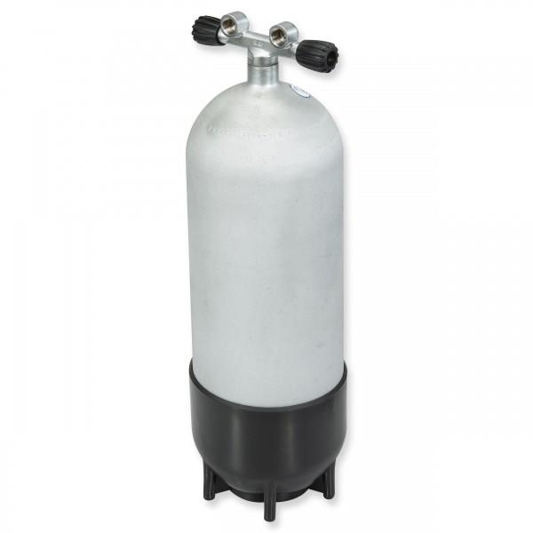 Polaris Steel Beast - Hot Dipped - 15 Liter Stahlflasche mit Doppelventil - 232 bar Version
