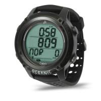 Oceanic Geo 4.0 Tauchcomputer im Uhrenformat - Luft und Nitrox, schwarz