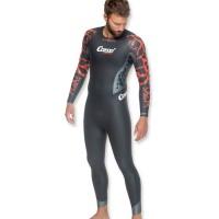 Cressi Schwimmanzug Kuwae - aus 4.3.2 mm Neopren, Herren