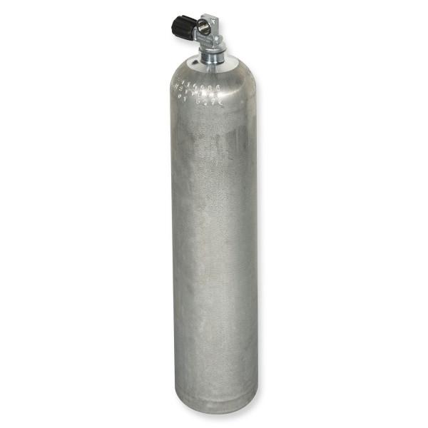 OMS - BTS Alu-Flasche Mono 40cf silber, Dirty Beast, ca. 5,7 Liter