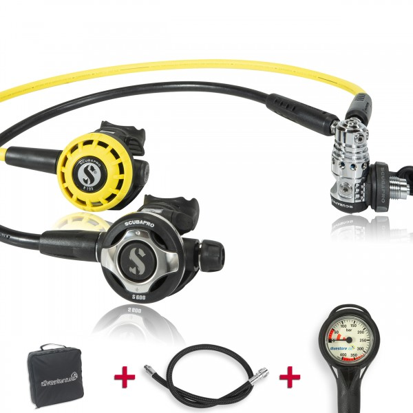 Scubapro MK 25 EVO S600 Komfort Sparset - geprüft und montiert