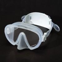 Rahmenlose Tauchmaske Scubapro Ghost inkl. Ersatzband - clear