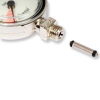 Finimeter-Drehgelenk mit O-Ringen