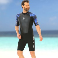 Aqualung Hydroflex Shorty - 3mm Neopren Herren, blau
