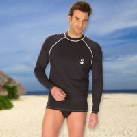 Scubapro Loose Fit Rash Guard mit langem Arm