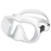 OMS Tauchmaske TX1 - UV Schutz Glas, weiß