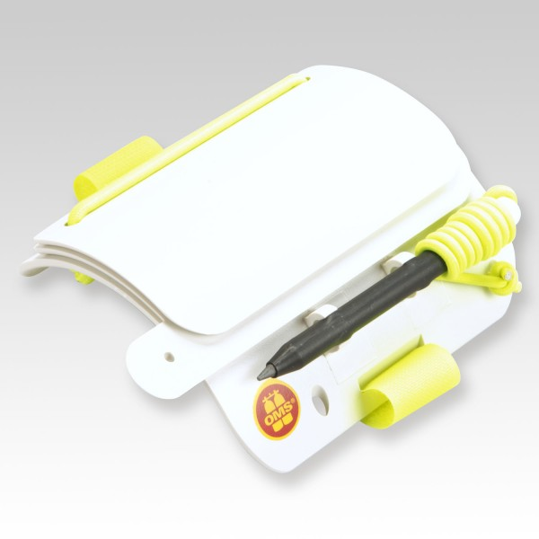 Praktische Schreibtafel für den Unterarm von OMS