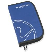 Aqualung Taucherlogbuch, Ringbuch in blau