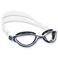 Cressi Thunder Schwimmbrille - weiß blau