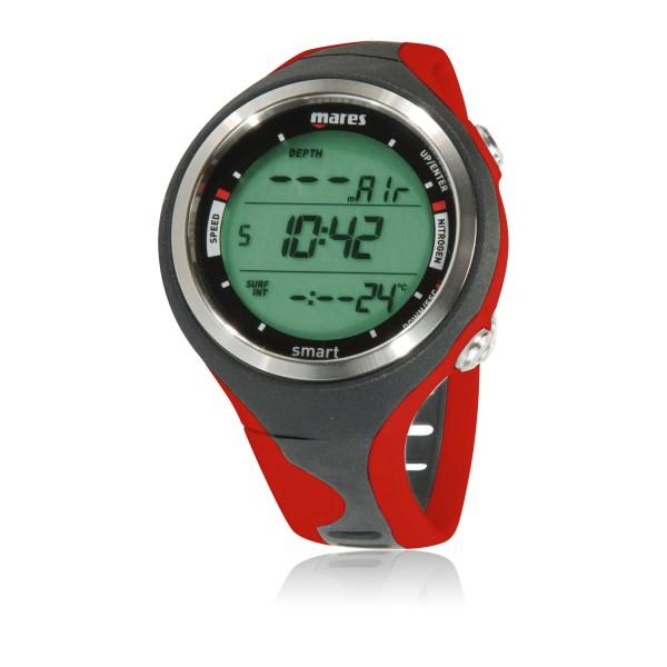 Mares Smart Tauchcomputer  - Uhrenformat, rot
