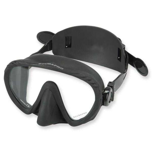 Rahmenlose Tauchmaske Scubapro Ghost inkl. Ersatzband