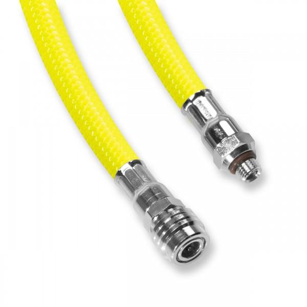 ScubaFlex Inflatorschlauch - gelb - 51 bis 90 cm - Flexschlauch