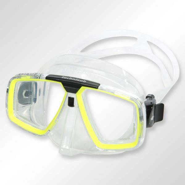 Tauchmaske Aqualung Look Silikon - optische Gläser möglich
