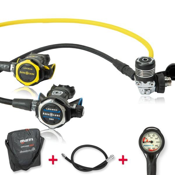Aqualung Legend MBS Komfort Sparset - geprüft und montiert