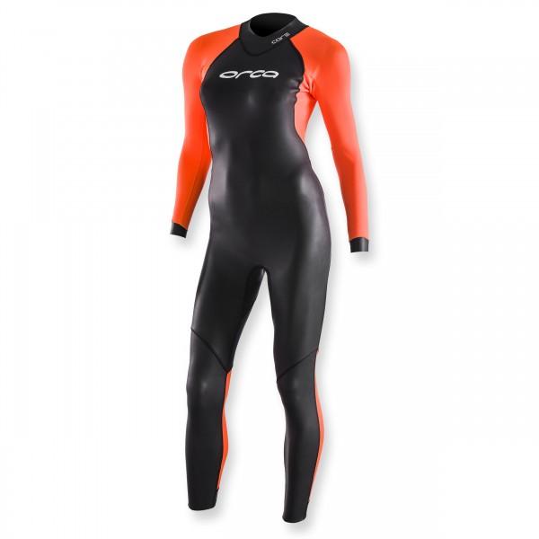 ORCA Freiwasser-Schwimmanzug Core High Vis - Damen, Triathlon