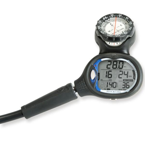 Aqualung i550 Tauchcomputer mit Kompass und Schnellkupplung