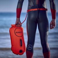Zone3 Swim Safety Buoy Dry 28 Liter - HI-VIS orange