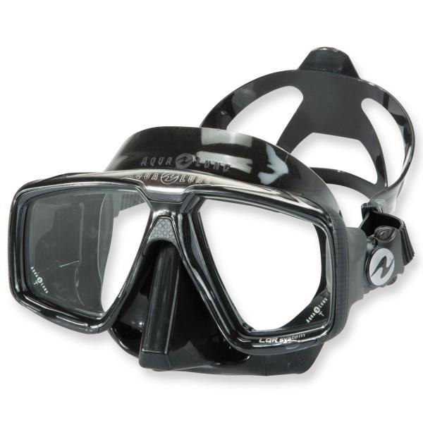 Aqualung Look HD black - Tauch- und Schnorchelmaske