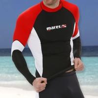 Mares DC Rash Guard Shirt langarm für Herren - UPF50+