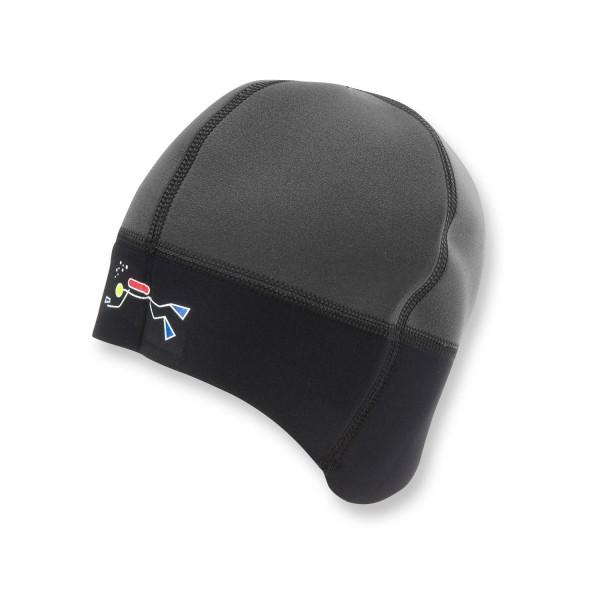 2 mm Neopren Mütze fürs Warmwasser-Tauchen