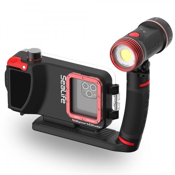 Sealife Sportdiver Sparset Pro 2500 - für viele Smartphones -  mit Beleuchtung