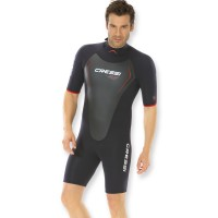 Cressi Wassersportanzug Shorty Altum - 3mm Neopren, Herren